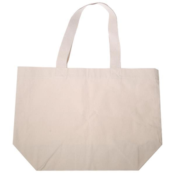 Τσάντα βαμβακερή με κοντό χερούλι Υ35x52x18εκ.