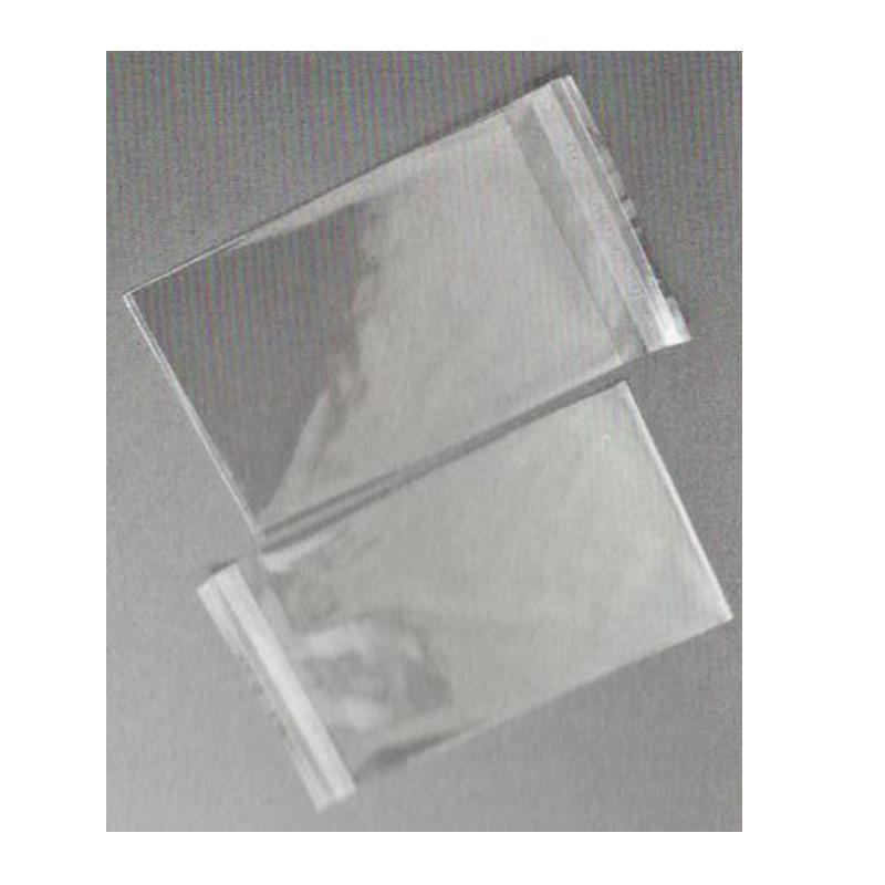 Σακουλάκι opp με αυτοκόλλητο διάφανο 80x120mm. 30mic. (100τεμ)