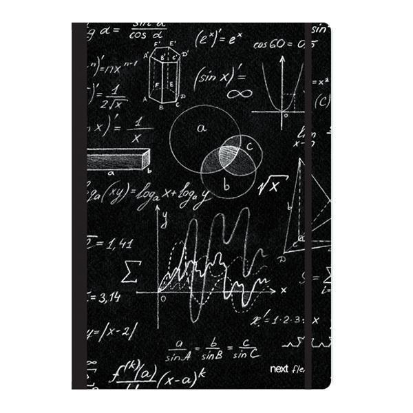 Next trends mathematics τετράδιο flexi λάστιχο 17x25εκ. 2θεμ. 80φ.