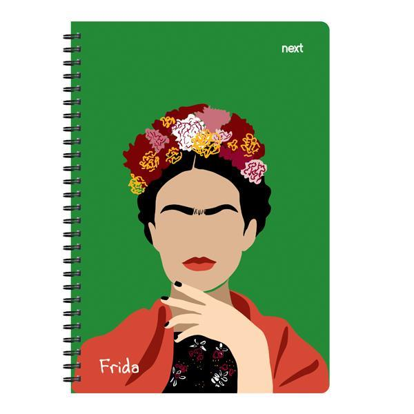 Next trends Frida τετράδιο σπιράλ 17x25εκ. 2θεμ., 70φ.