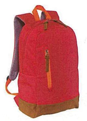 Τσάντα πλάτης κόκκινη 29,5x14,5x45εκ.