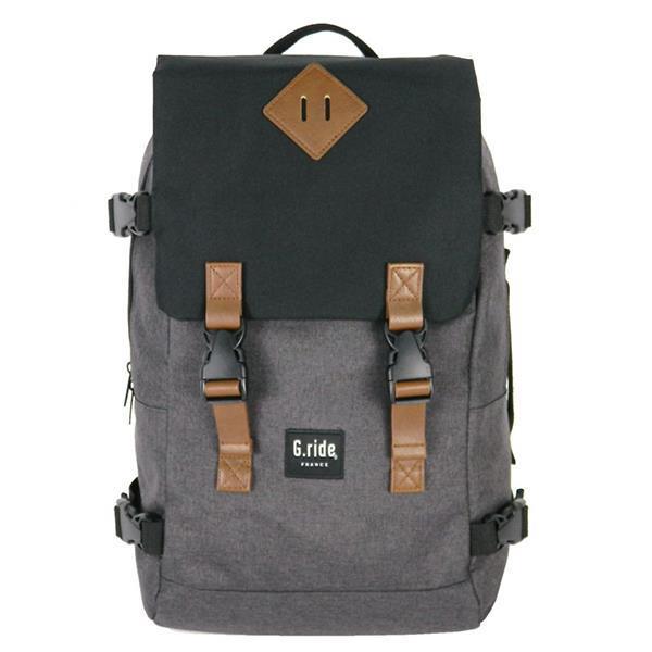 Bagtrotter τσάντα πλάτης εφηβική καφέ Υ49x32x15εκ.