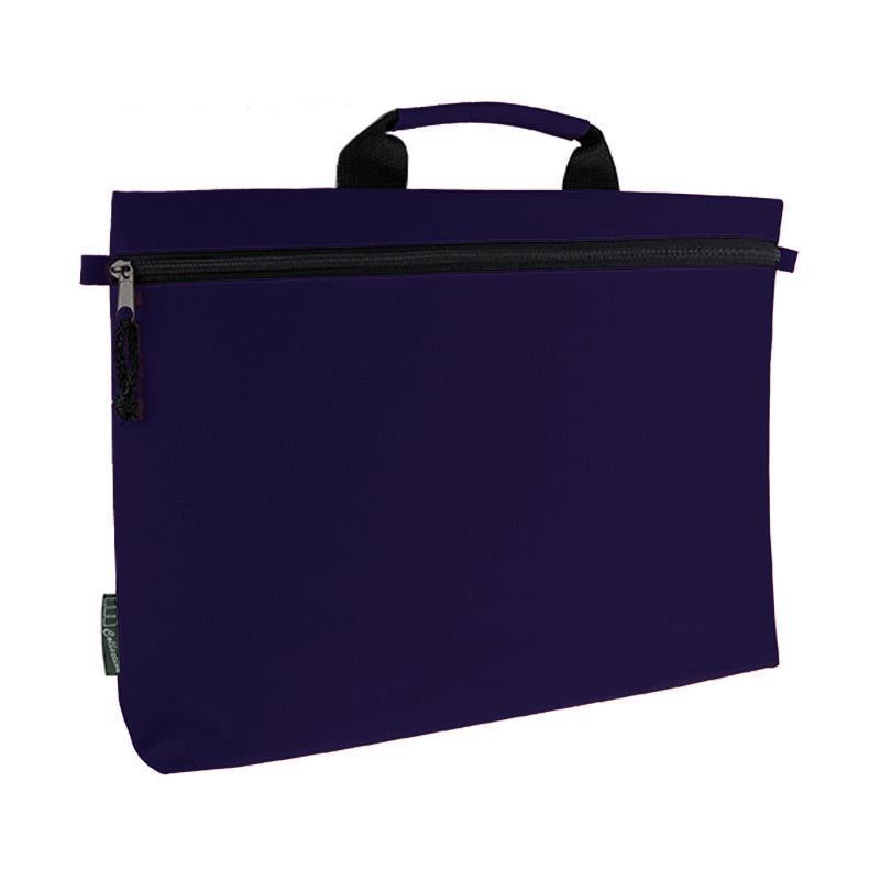 Τσάντα εγγράφων-σεμιναρίων μπλε 41x27εκ.