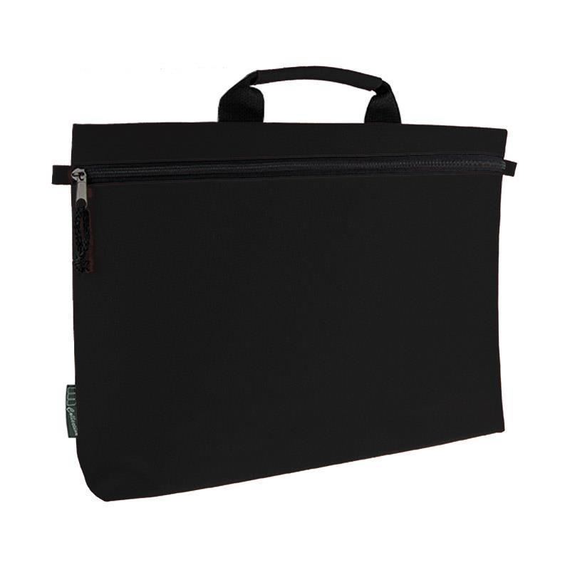 Τσάντα εγγράφων-σεμιναρίων μαύρη 41x27εκ.