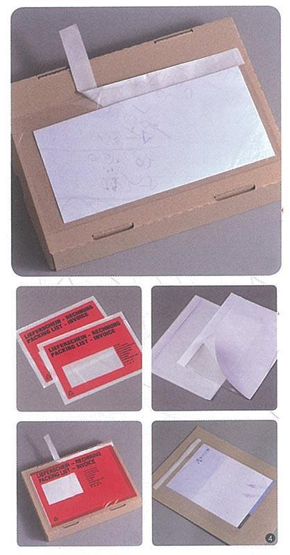 Αυτοκόλλητοι φάκελοι packing list Α4 (500τεμ)