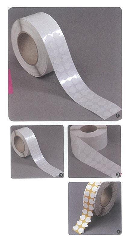 Αυτοκόλλητα στρόγγυλα 20χιλ permanent/permanent(5000τεμ/ρολ)