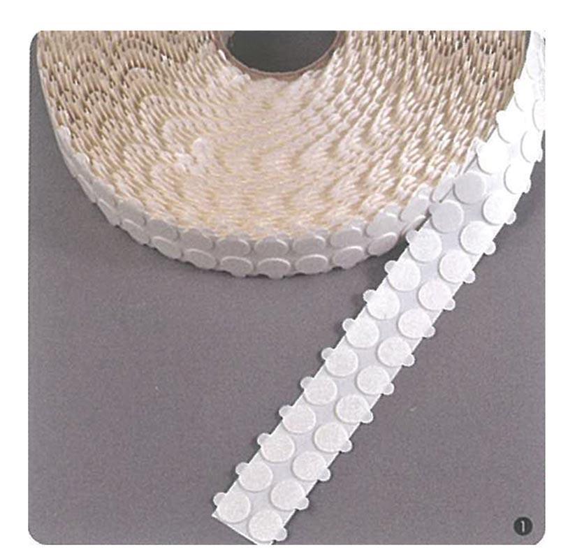 Αυτοκόλλητα στρόγγυλα foam 20χιλ permanent/permanent(5000τεμ/ρολ)