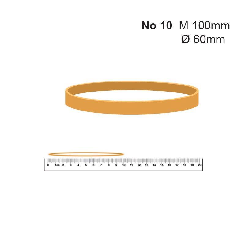 Λάστιχα Νο 10 63x1.4x5χιλ. (1kg) πλατύ