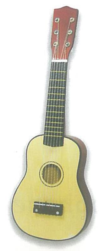 Κιθάρα ξύλινη 52εκ. με 6 χορδές
