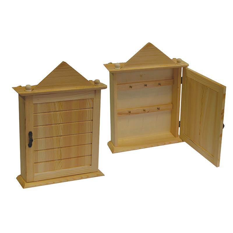 Κλειδοθήκη ξύλινη Υ26x18x6εκ.
