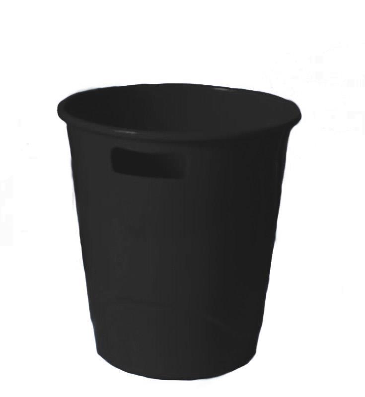 Ark καλάθι πλαστικό 9lt μαύρο 27,5x25,5εκ.