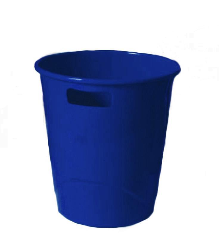 Ark καλάθι πλαστικό 9lt μπλε 27x25εκ.