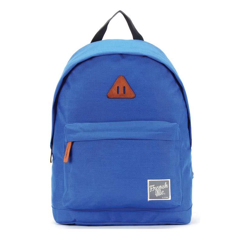 Bagtrotter τσάντα πλάτης μπλε με 1 θήκη 40x29x14εκ.