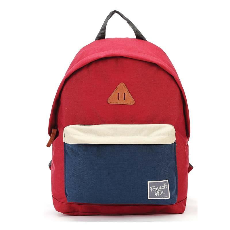 Bagtrotter τσάντα πλάτης σκ. κόκκινο με 1 θήκη 40x29x14εκ.