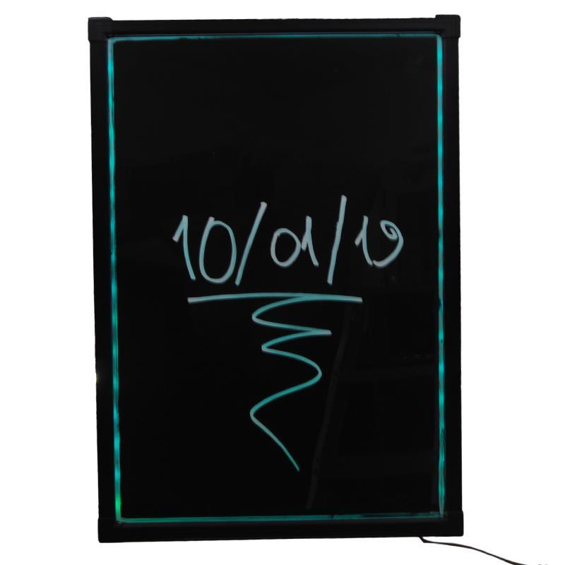 Πίνακας led επιτοίχιος-κρεμαστός 50x70εκ. με κορνίζα αλουμινίου