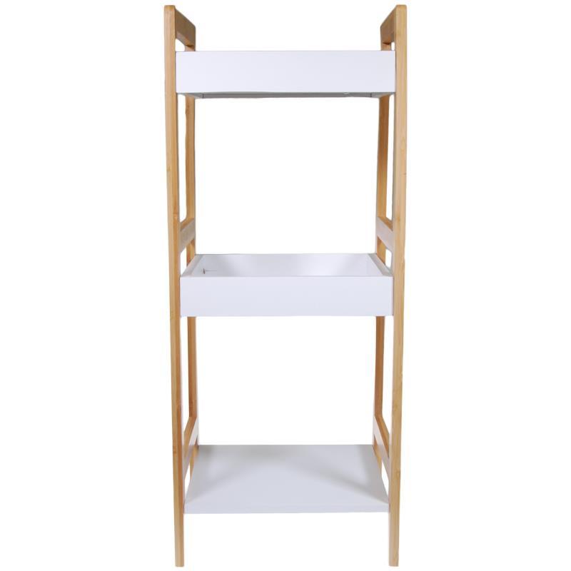 Ραφιέρα οργάνωσης ξύλινη με 3 ράφια Υ72x29,5x28,5εκ.