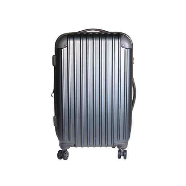 Βαλίτσα ταξιδίου abs γκρι Υ57x36x24εκ. (cabin size)
