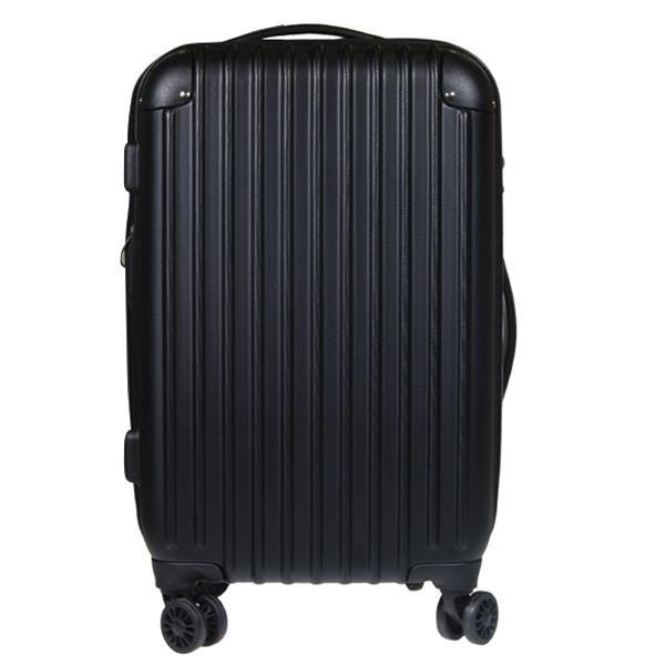 Βαλίτσα ταξιδίου μεγάλη abs μαύρο Υ77x48x32εκ.
