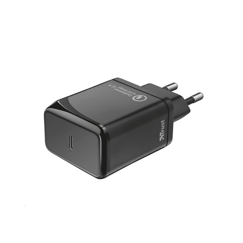 Trust Velox18 Advanced Ultra-Fast USB-C Wall Charger with PD3.0 & QC4+ (23140) (TRS23140)
