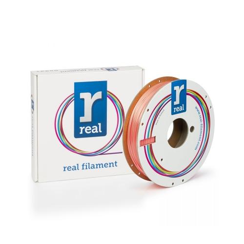 REAL PLA 3D Printer Filament - Satin Salmon - spool of 0.5Kg - 1.75mm (REFPLASATINSALMON500MM175)