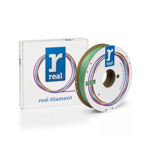 REAL PLA 3D Printer Filament - Satin Spring - spool of 0.5Kg – 2.85mm (REFPLASATINSPRING750MM285)