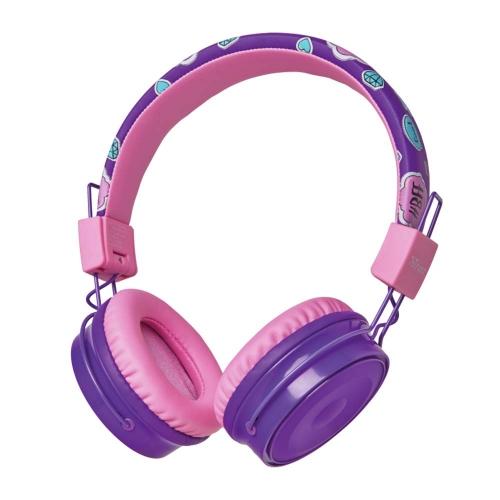Trust Comi Bluetooth Wireless Kids Headphones - purple (23608) (TRS23608)