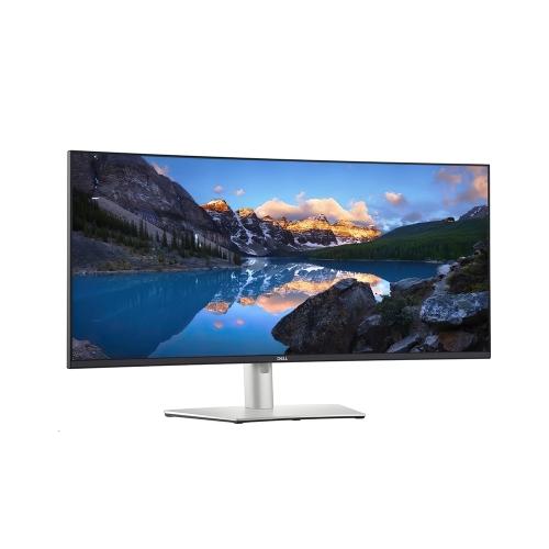 DELL UltraSharp U3821DW Curved IPS WQHD+ Ergonomic Monitor 38'' USB-C & Speakers (210-AXNT) (DELU3821DW)