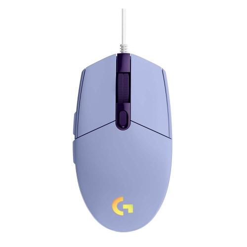Logitech Gaming Mouse G102 LightSync RGB Lilac (910-005854) (LOGG102LIL)