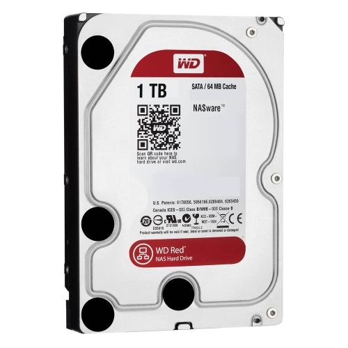 Western Digital Εσωτερικός Σκληρός Δίσκος 1 TB (CMR) (Red 3.5