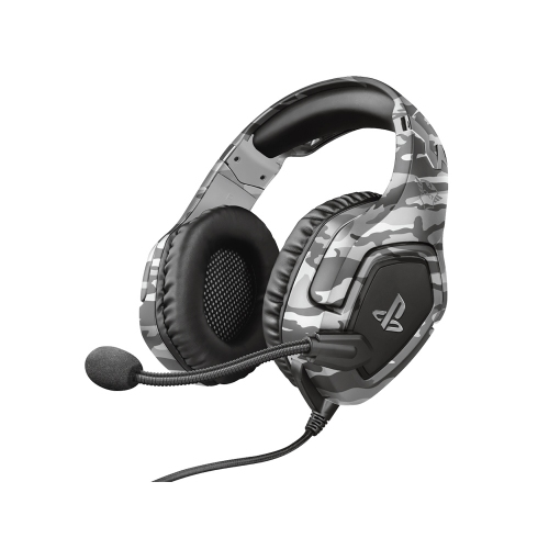 Trust GXT 488 Forze-G PS4 Gaming Headset PlayStation official licensed product - grey (23531) (TRS23531)