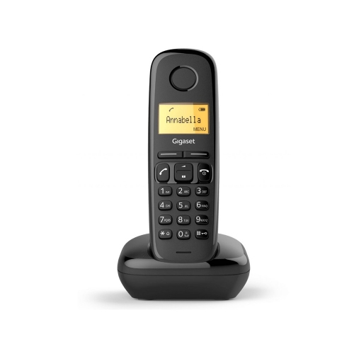 Ασύρματο Τηλέφωνο Gigaset A170 Black (S30852-H2812-K101) (GGSGGSA170-BK)