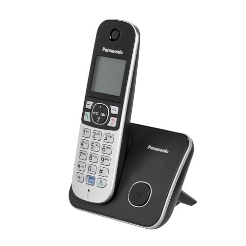 Ασύρματο Τηλέφωνο Panasonic KX-TG6811GB Black (KX-TG6811GB) (PANKX-TG6811GB)