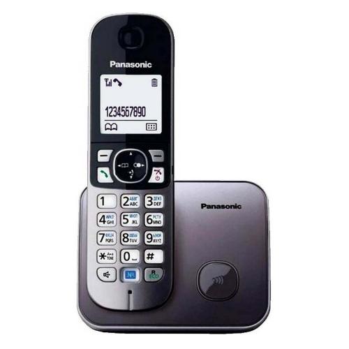 Ασύρματο Τηλέφωνο Panasonic KX-TG6811GY Grey (KX-TG6811GRY) (PANKX-TG6811GY)