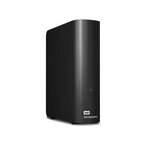Western Digital Elements Desktop 10TB USB 3.0 (Black) (WDBWLG0100HBK-EESN)