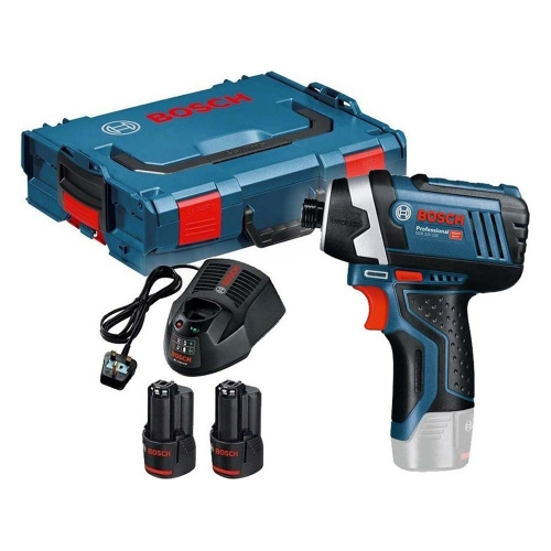 Bosch GDR 12V-105 Cordless Drill Driver + 2x 2.0 Ah Battery (06019A6977) (BSH06019A6977)