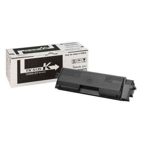 KYOCERA TASKALFA 265CI/266CI TNR BLACK (10k) (TK-5135K) (KYOTK5135K)