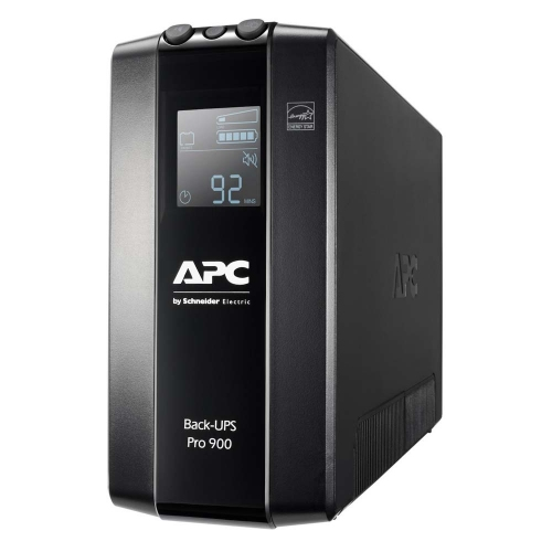 APC UPS Pro BR 900VA Back-Ups 6 Outlets, AVR, LCD Interface (BR900MI) (APCBR900MII)