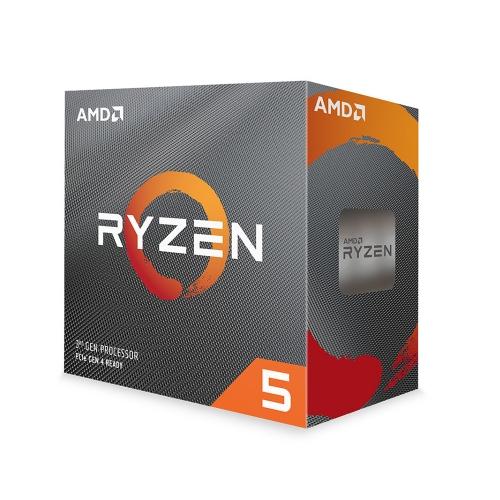Επεξεργαστής AMD Ryzen 5 3600 Box AM4 (3,600GHz) with Wraith Stealth cooler (100-100000031BOX) (AMDRYZ5-3600)