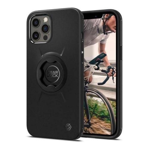 Spigen Gearlock iPhone 12 Pro Max Bike Mount Case – Black (ACS01587) (SPIACS01587)