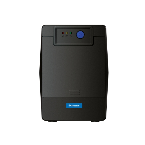 Tescom LED 650VA UPS Line Interactive (UPS.0222) (TSLED650)