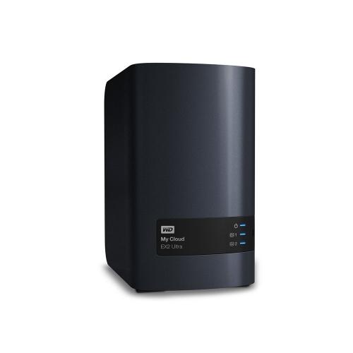 Western Digital My Cloud EX2 Ultra 0TB External (Black) (WDBVBZ0000NCH-EESN)