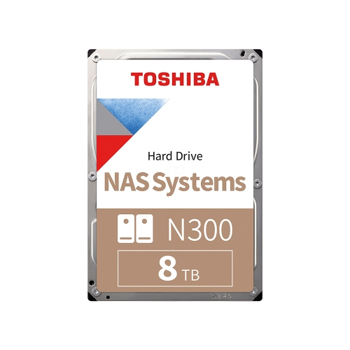 Toshiba X300 - High Performance Hard Drive 3.5'' 8TB (Bulk) (HDWF180UZSVA) (TOSHDWF180UZSVA)