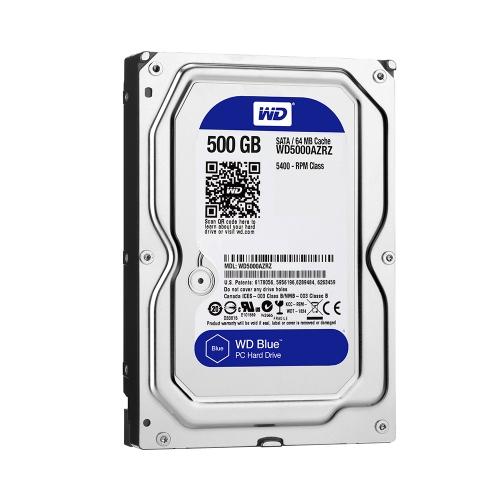 Western Digital PC Desktop Hard Drive 500GB (Blue 3.5