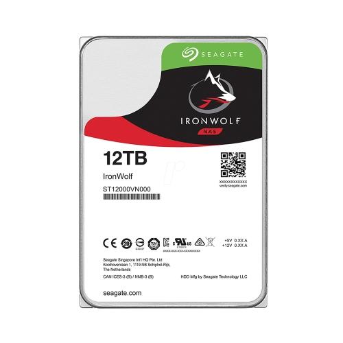 Εσωτερικός Σκληρός Δίσκος SEAGATE 3.5'' 12TB Sata III Ironwolf (ST12000VN0008) (SEAST12000VN0008)