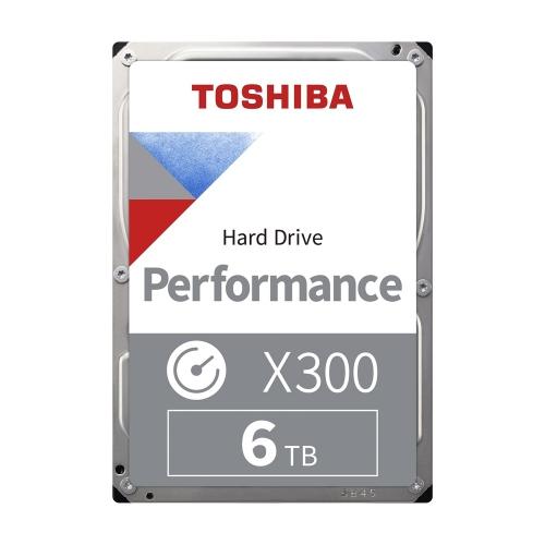 Toshiba X300 - High Performance Hard Drive 3.5'' 6TB (Bulk) (HDWE160UZSVA) (TOSHDWE160UZSVA)