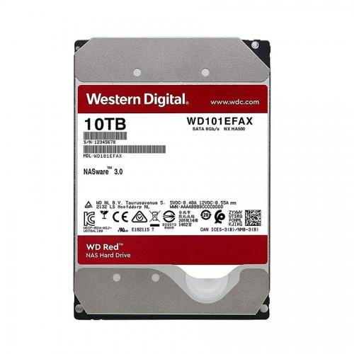 Western Digital Εσωτερικός Σκληρός Δίσκος 10 TB (CMR)  (Red 3.5