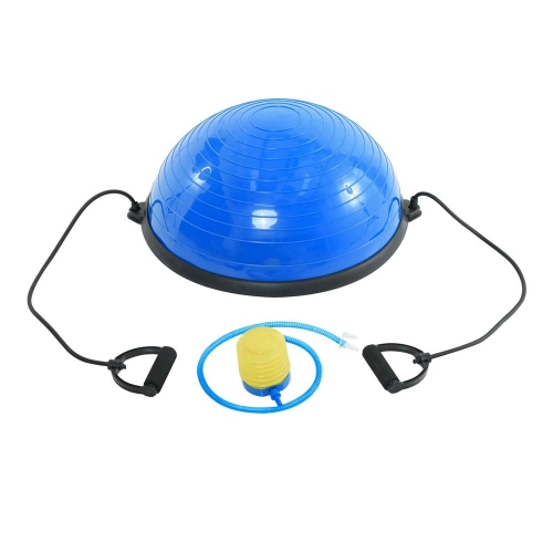 HomCom Μπάλα Ισορροπίας με Λάστιχα και Αντλία Αέρος 52 cm (A94-001) (HOMA94-001)