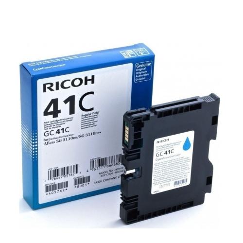RICOH AFICIO SG3100 SERIES INK CYAN (2.2k) (405762) (RICGC41C)