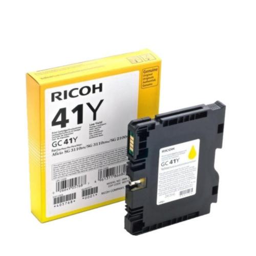 RICOH AFICIO SG3100 SERIES INK YELLOW (2.2k) (405764) (RICGC41Y)