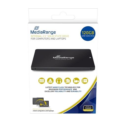 MediaRange Εσωτερικός Σκληρός Δίσκος SSD 120GB (MR1001)